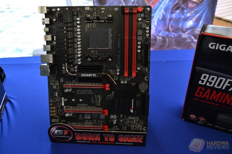 Presentación Gigabyte Motherboards 970-Gaming y 990FX-Gaming