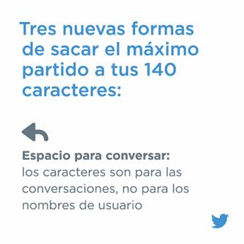 Twitter más de 140 caracteres
