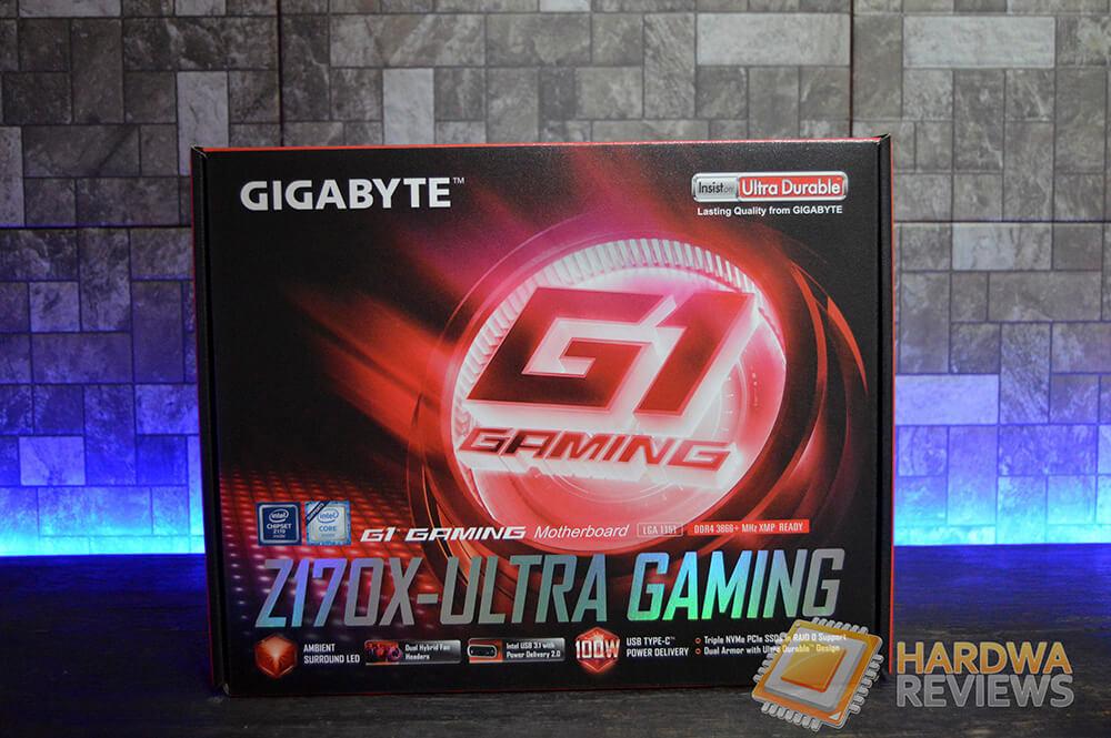 Gigabyte Z170X ULTRA GAMING Empaque