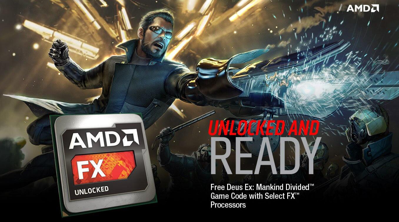 Deus Ex: Mankind Divided en procesadores AMD FX