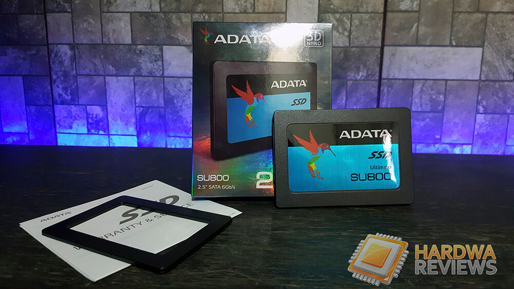 ADATA Ultimate SU800 256GB SSD 3D NAND