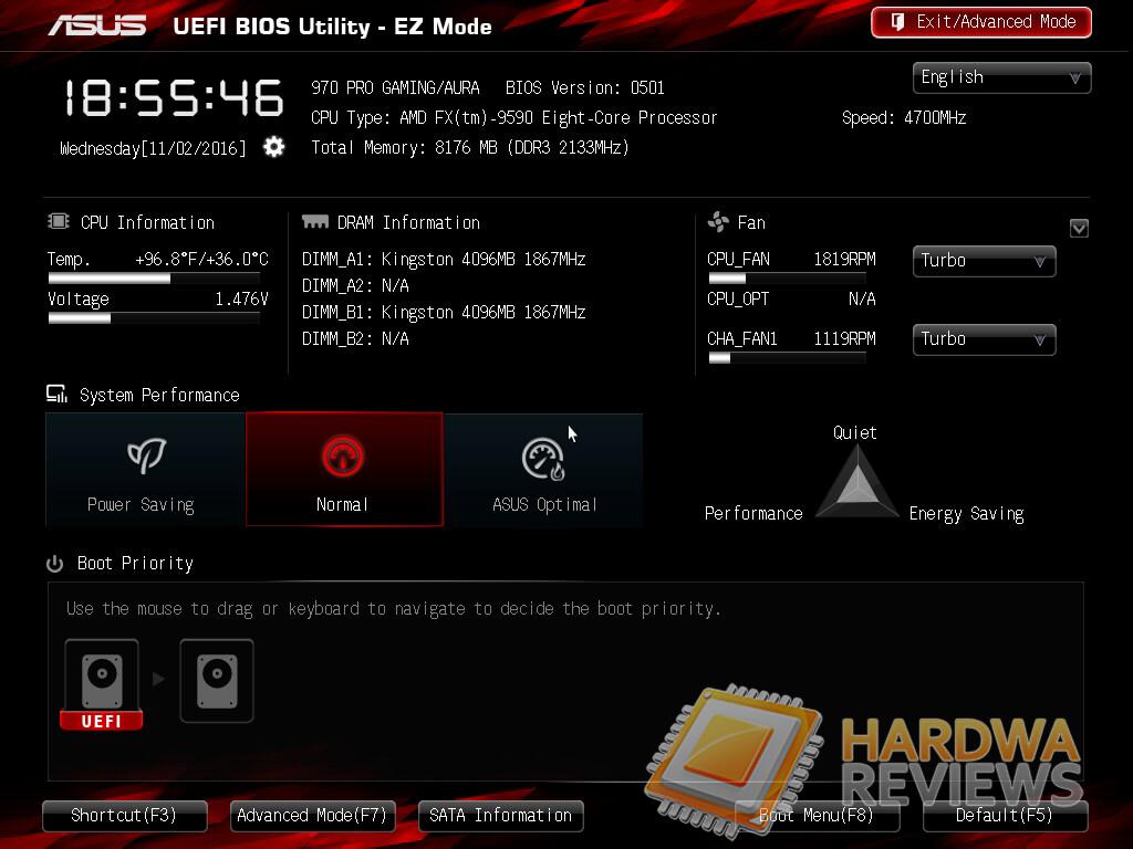 ASUS 970 PRO GAMING/AURA BIOS