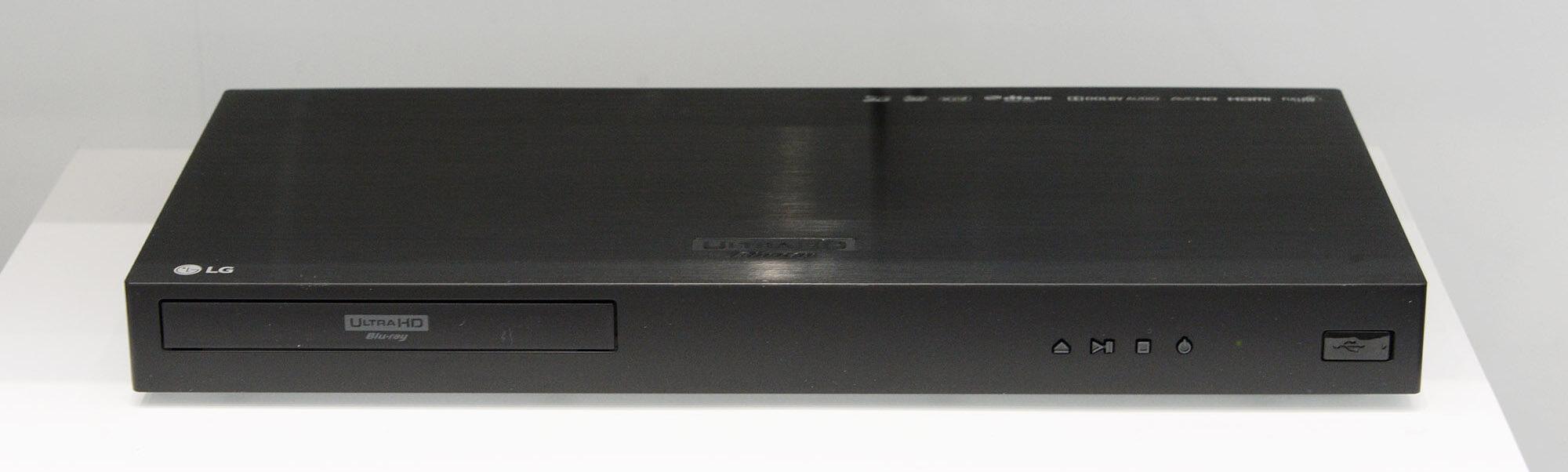 LG Dolby Digital Blu-ray Ultra HD