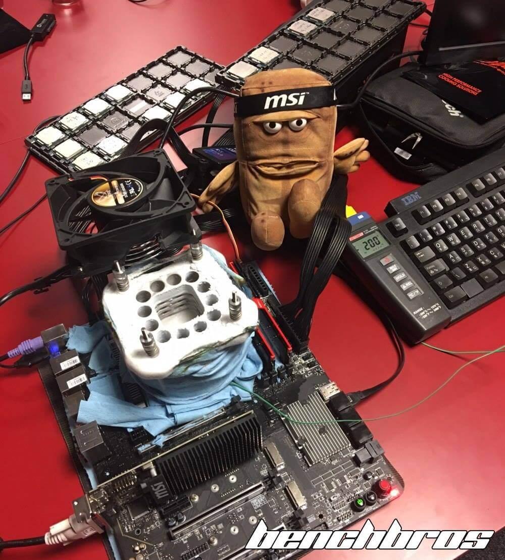Intel Core i7 7700K en Overclock a 7GHz