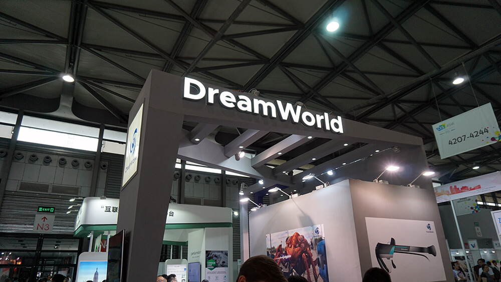 CES ASIA 2017 – DreamWorld y sus Dream Glasses