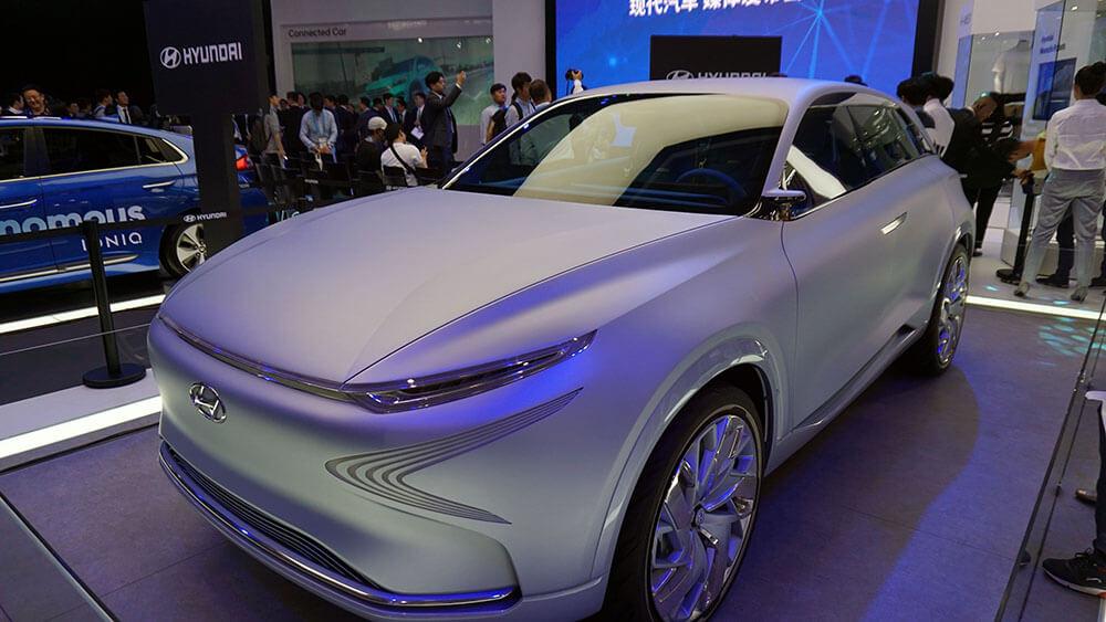 CES Asia 2017 Automóviles