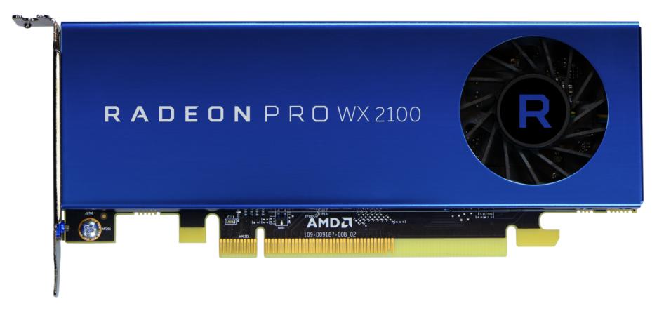 Radeon Pro WX 2100 y WX 3100