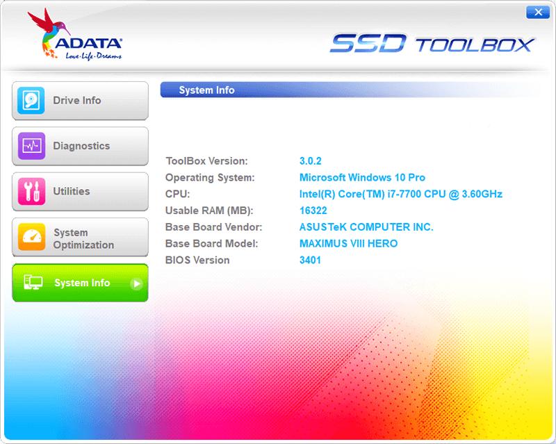 ADATAXPG SX8000 256GB M.2 NVMe