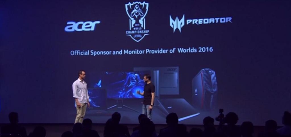 Acer Patrocinador oficial