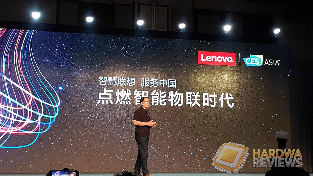 CES ASIA 2018 Keynote Lenovo