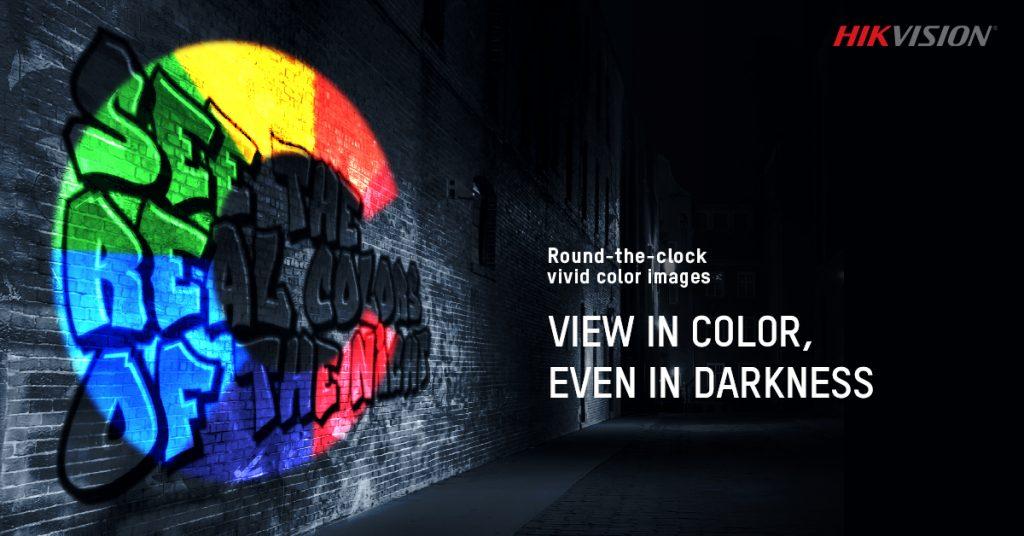 Cámara ColorVu