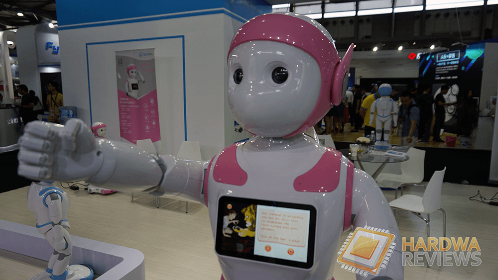 Robots CES ASIA 2018