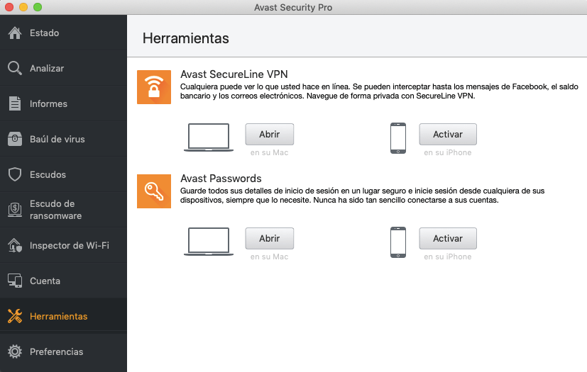 Avast Security Pro