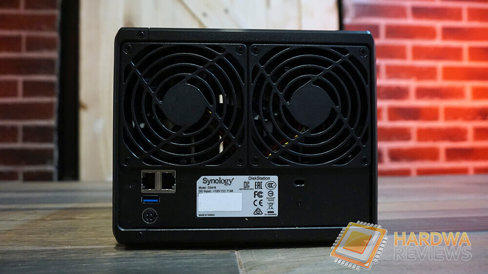 Review - Servidor NAS Synology DS418