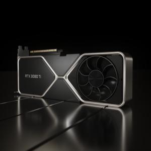 Impulsada por la arquitectura NVIDIA Ampere, la GeForce RTX 3080 Ti es la nueva GPU insignia para juegos de la línea RTX.
